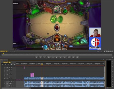 Editing my Naxxramas: Warrior Class Challenge-video.