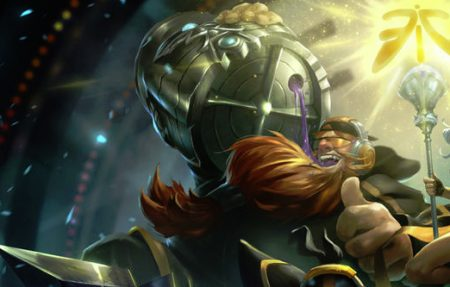 Fnatic Shushei-skin for Gragas in commeration of their S1 victory.