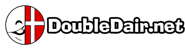 DoubleDair.net Logo 50% (including text).