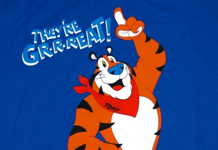 "Tony the Tiger: ""THEY'RE GRRREAT!"""